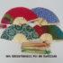 Souvenir Pernikahan Kipas Batik Tile Sablon